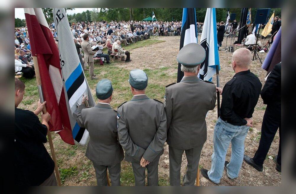 Välisministeerium: Sinimägede ürituse tõlgendamine neonatsismi ilminguna solvab Eesti inimesi