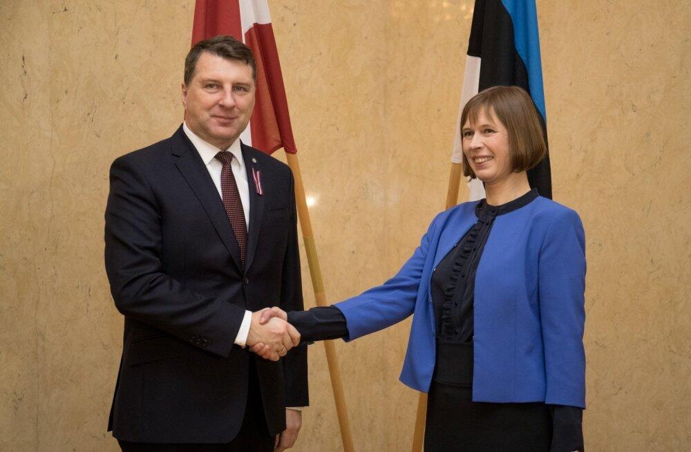 Läti president Vējonis ei kavatse Kaljulaidi kombel ajutiselt Riiast provintsi kolida