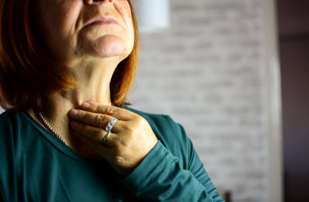 On mõned märgid, mis viitavad kilpnäärmehaigusele ja sa peaksid kohe sellega tegelema