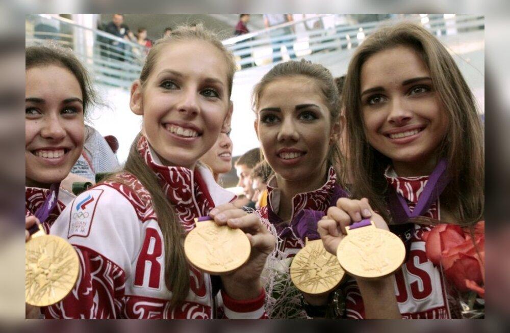 Londonis olümpiakulla võitnud venelanna lõpetab 17-aastaselt karjääri