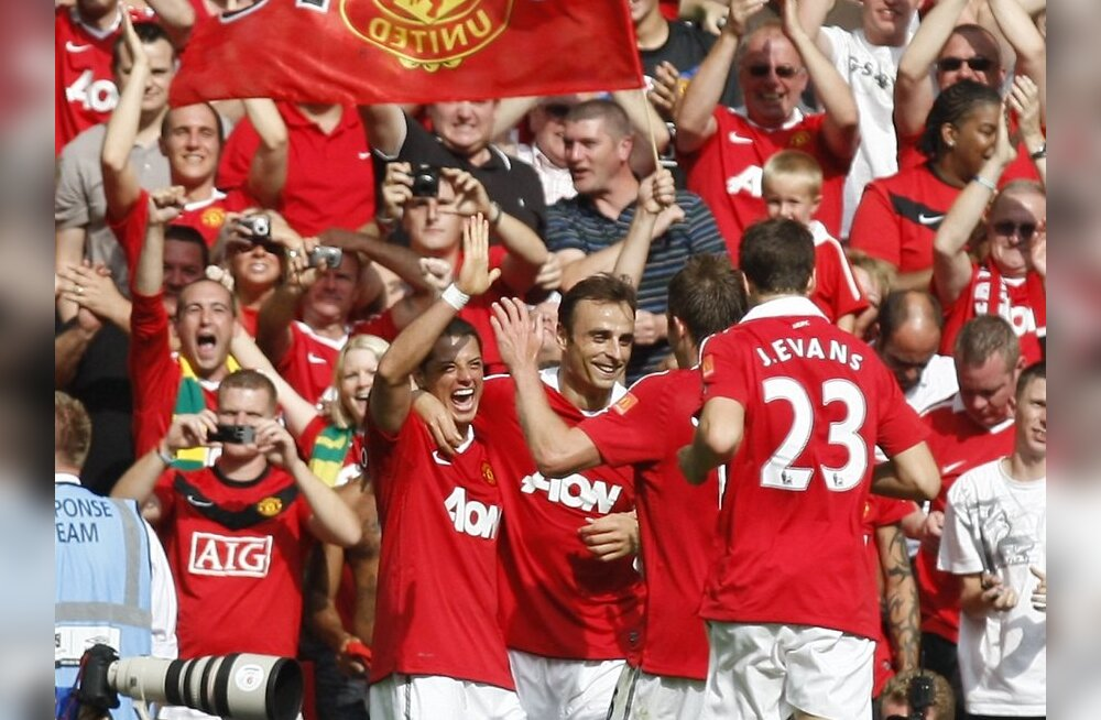 TOP 25: Manchester United tõusis Euroopa enimtoetatud vutiklubiks