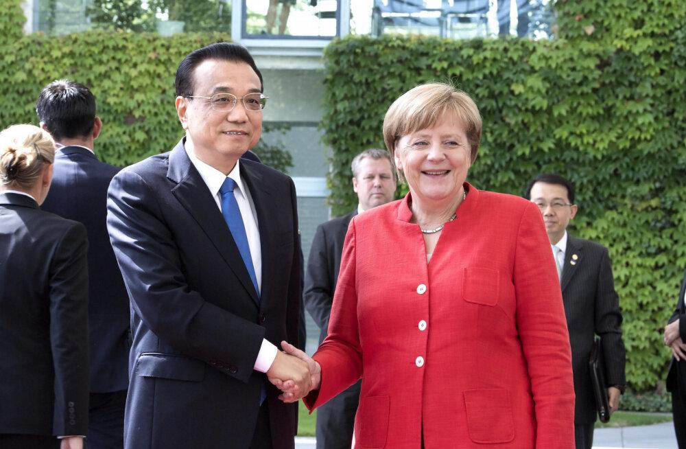 Saksamaa ja Hiina soovivad mitmepoolsete kaubandussuhete jätkumist