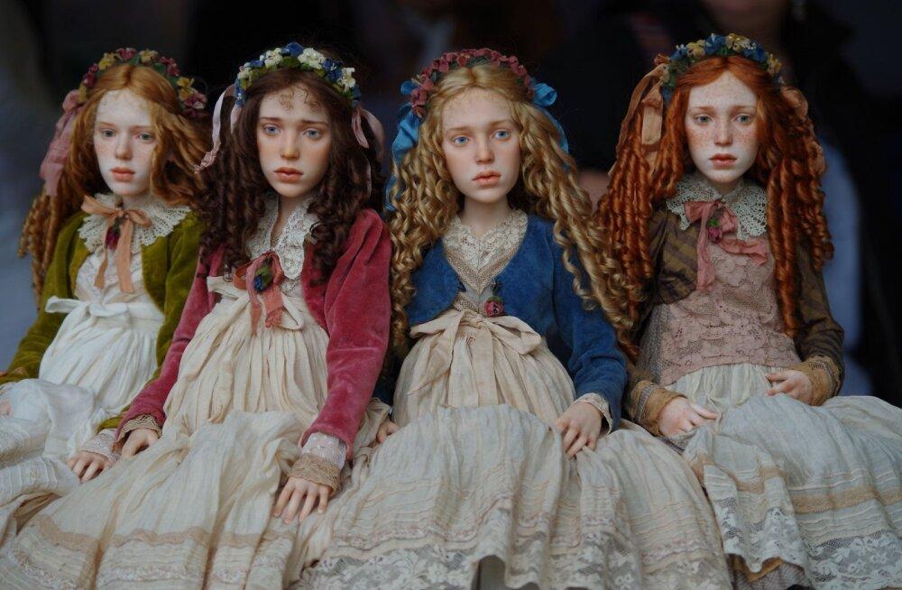 Выставка авторской куклы 2017. Фото автора