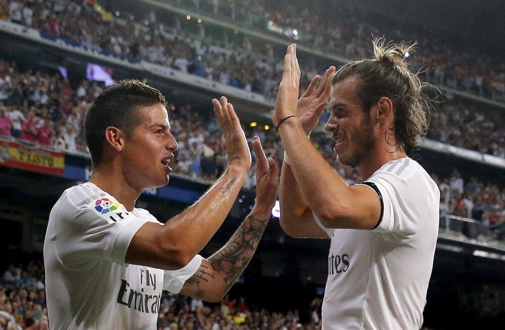 James Rodriguez ja Gareth Bale on uute koduklubide otsingul.