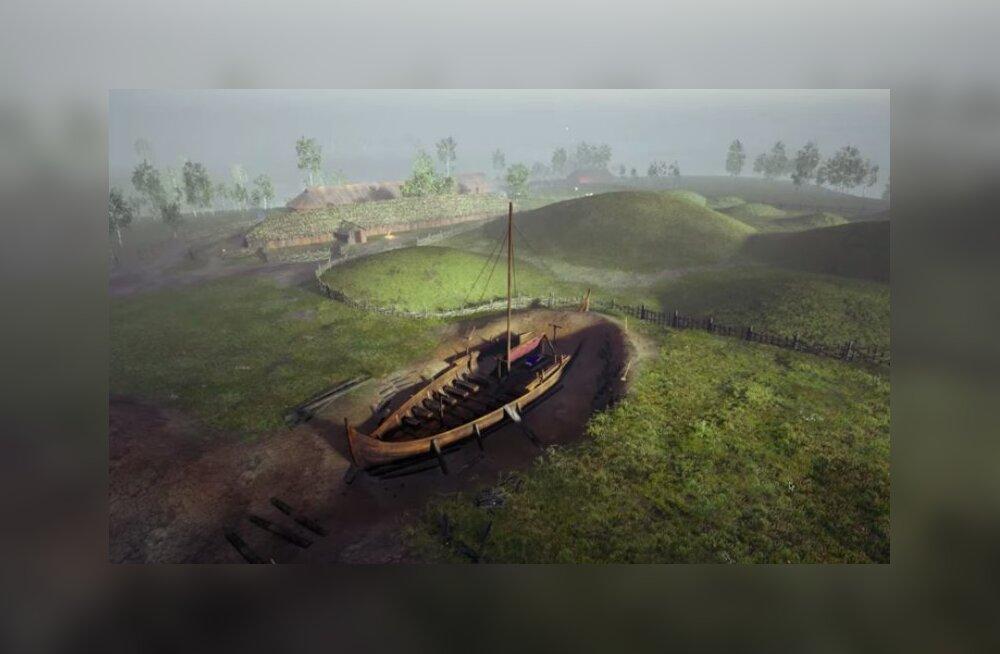 Власти Норвегии разрешили выкопать древний погребальный корабль викингов