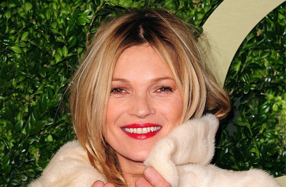 Legendaarne modell Kate Moss on tõeline superstaar, kes armastab särada glamuursetes kasukates nii tänavapildis kui ka punasel vaibal.