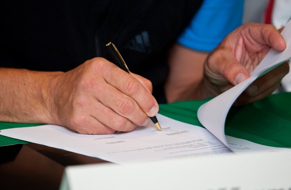 allkirjastamine