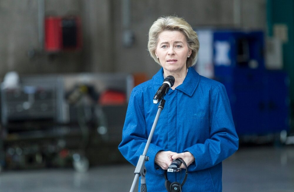Saksamaa kaitseminister Ursula von der Leyen külastab Ämari baasi