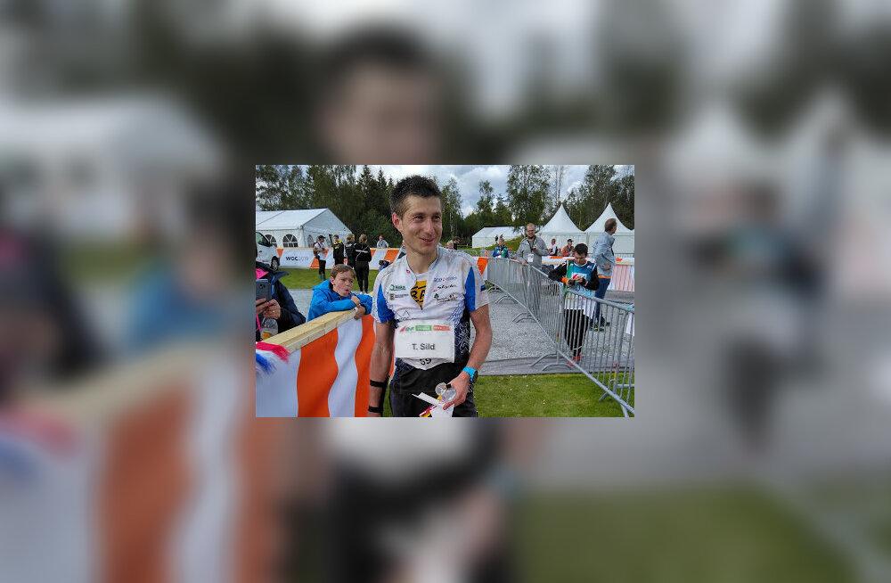 Timo Sild sai orienteerumise MM-il tavarajal 15. koha