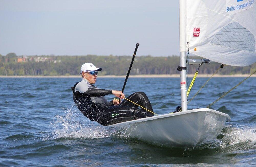 Tallinna Jahtklubi KV teine võistluspäev pakkus tugevat tuult