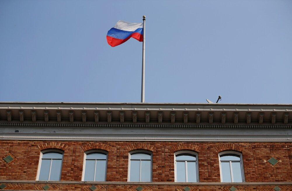 Vene välisministeeriumi esindaja: USA teotas meie riiklikku sümbolit