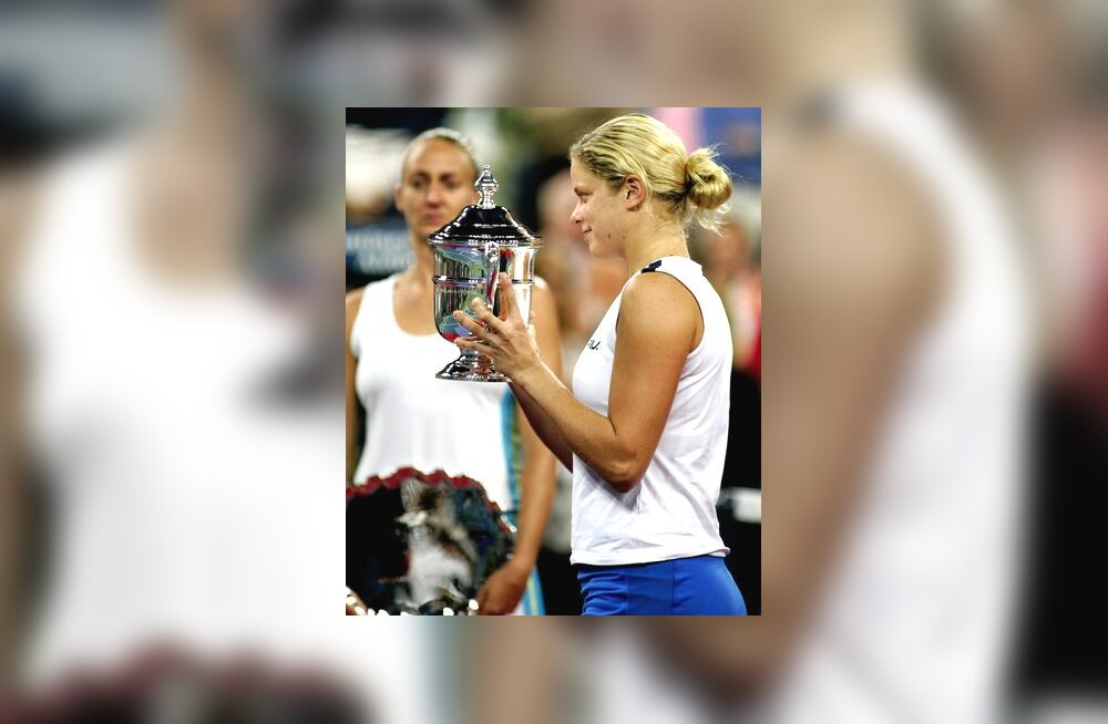 US Openi võitja Kim Clijsters