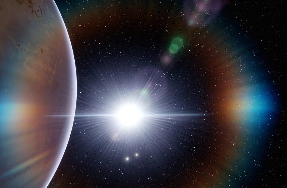 Astronoomid leidsid võimaliku planeedi teisest galaktikast
