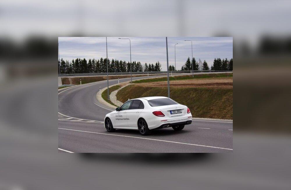 WhatCar?-i proovisõit: Mercedes-Benz E 200 – viis meetrit soliidsust