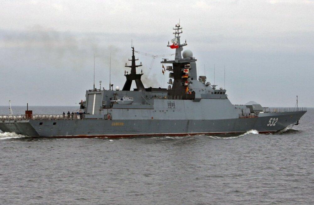 Vene sõjalaev