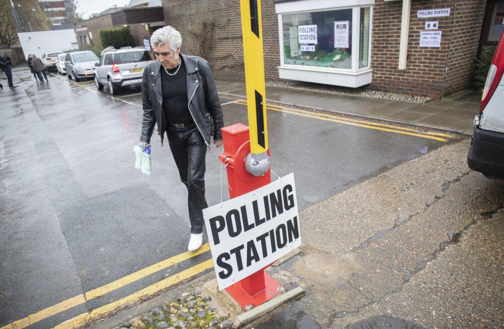 FOTOD | Delfi Londonis: äge valimisagitatsioon käib ka Boris Johnsoni enda ringkonnas