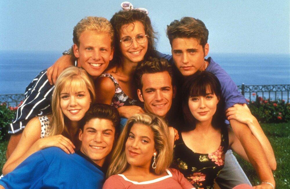"""Nii südamlik! """"Beverly Hills 90210"""" uusversioonis tehti lahkunud Luke Perry'le lausa kolm austusavaldust"""