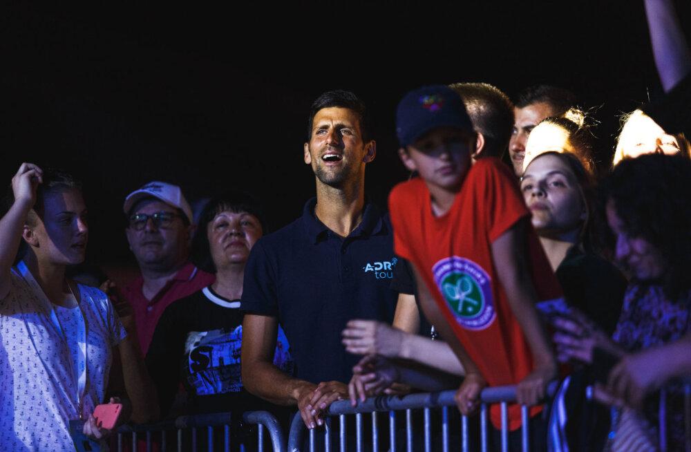 Järjekordne haigestunu: Djokovici treener nakatus koroonasse