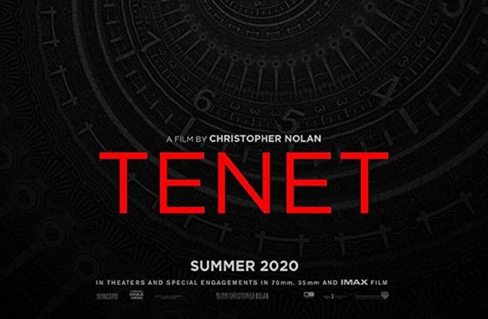 """Ilmus Eestis filmitava Christopher Nolani spioonipõneviku """"Tenet"""" esimene poster"""