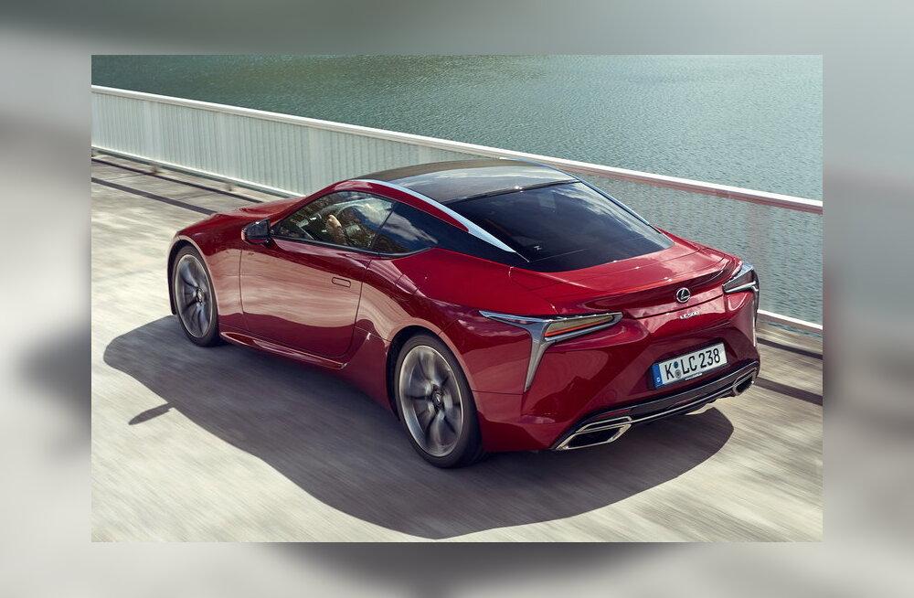 Lexus LC - nagu tulevikust meie sekka laskunud sõidumasin