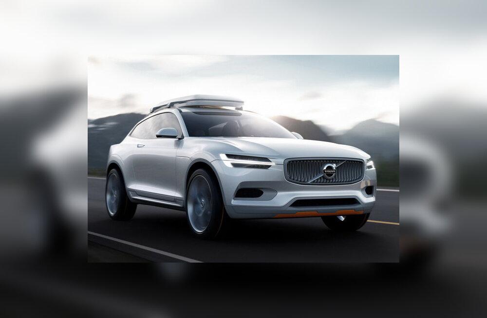 Volvo esitles Detroidis ideeautot XC Coupe