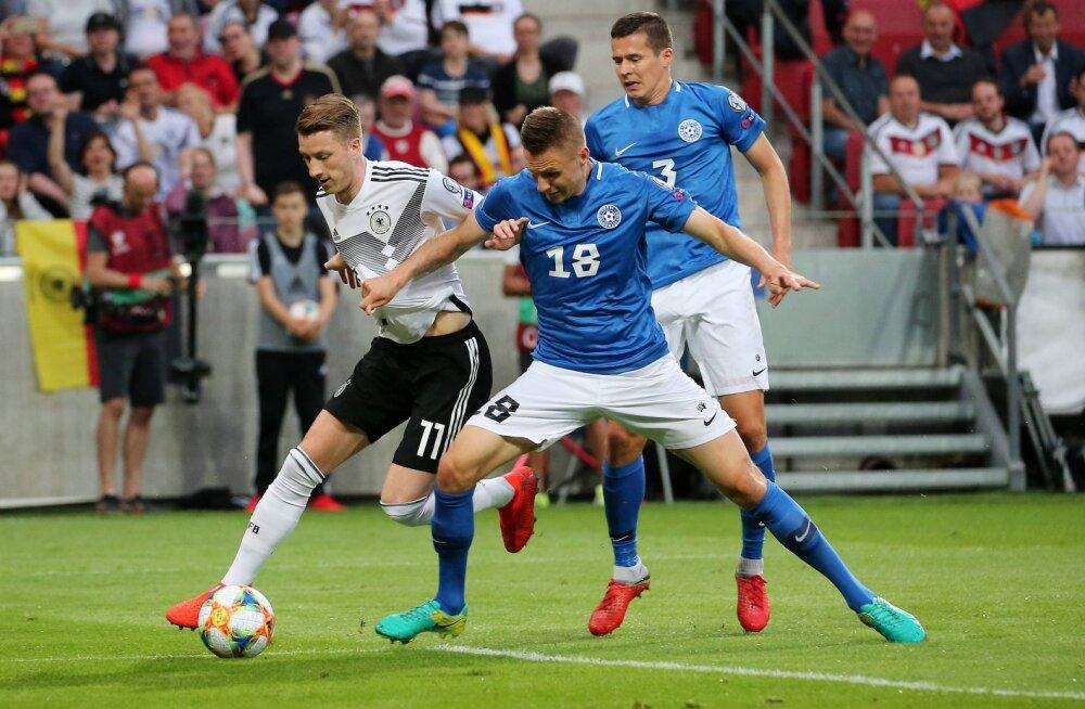 Eesti - Saksamaa mängule on veel müügil 1500 piletit