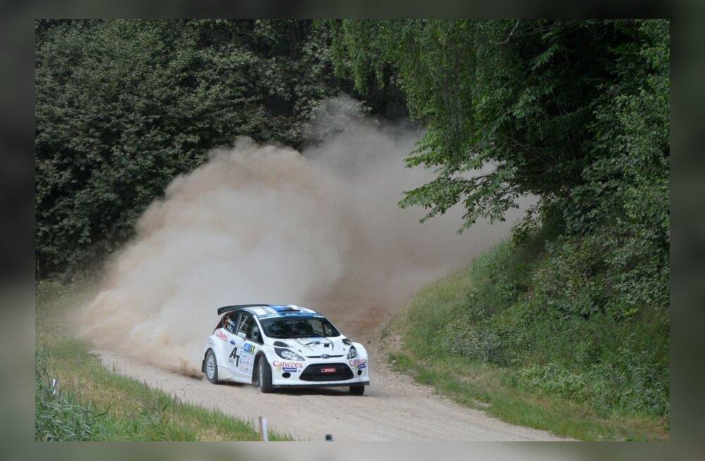 FOTOD: Martin Kangur võitis Rally Estonia kvalifikatsiooni