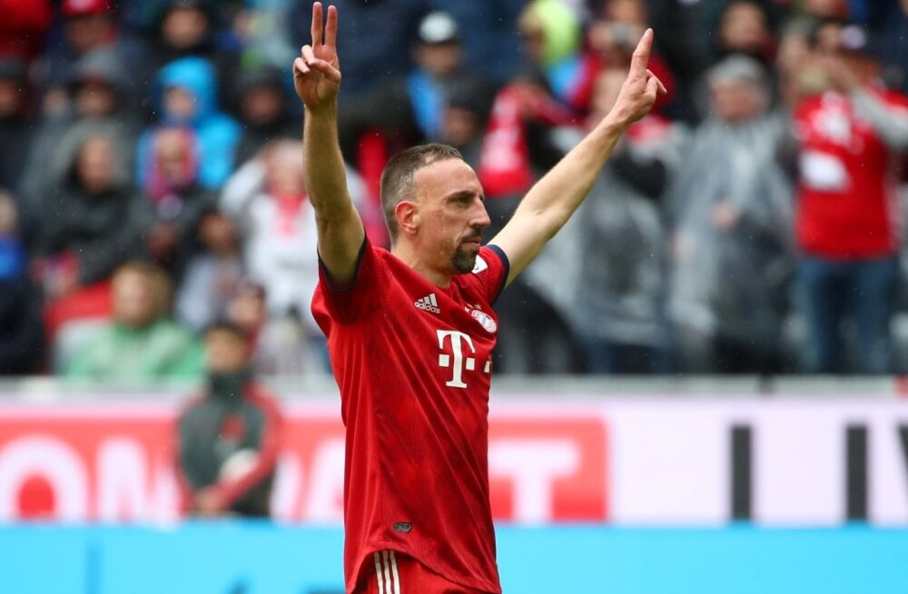 Franck Ribery Müncheni Bayerni särgis.