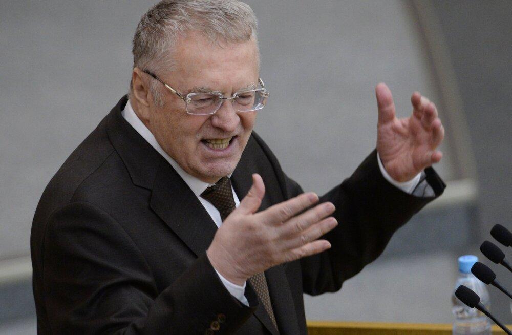 Vladimir Žirinovskit kuulates-vaadates tekib tahtmatult mõte, et ta ei mõtle ju tõsiselt seda mida räägib.