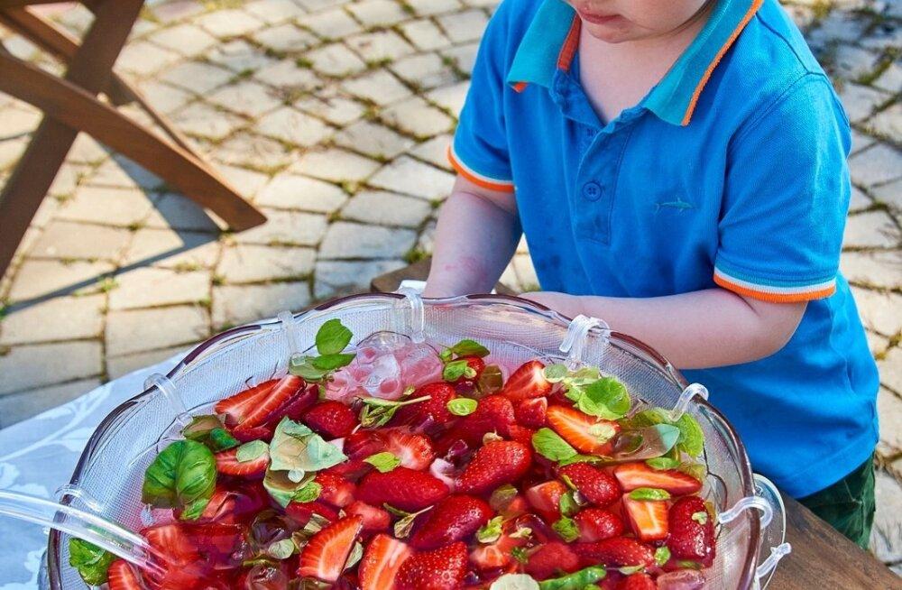 RETSEPT   Kuuma ilma maasikabool kogu perele!