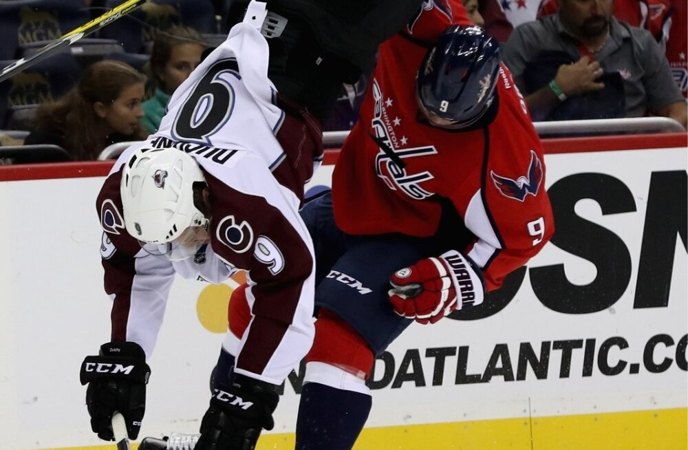 SPO-HKO-HKN-COLORADO-AVALANCHE-V-WASHINGTON-CAPITALS