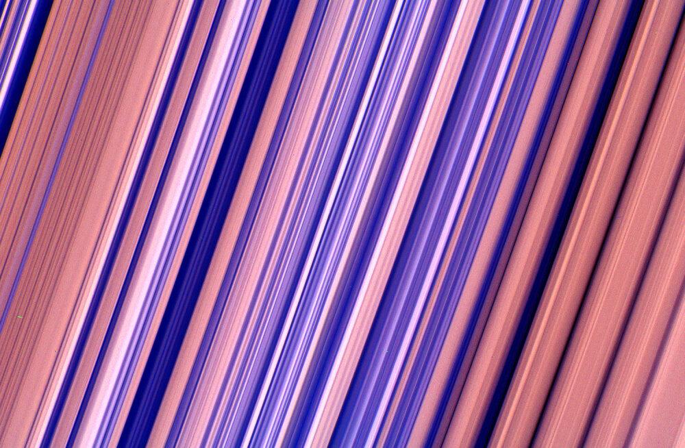 Ilus tapeet? Ei, see on kõrgeima lahutusvõimega foto Saturni rõngastest, mis eales tehtud