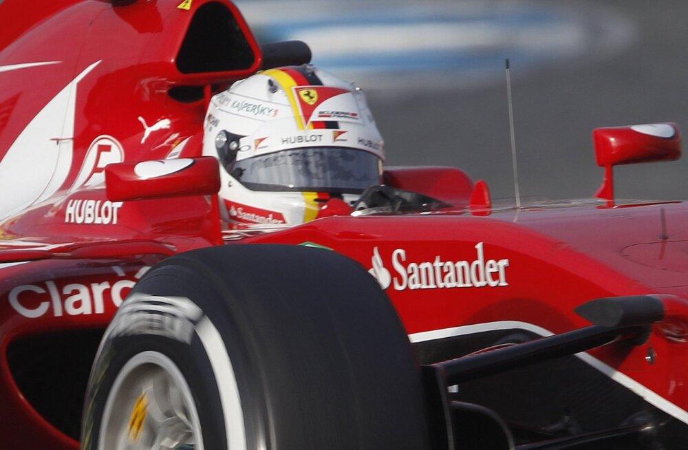 Sebastian Vettel skandaalse kiivriga
