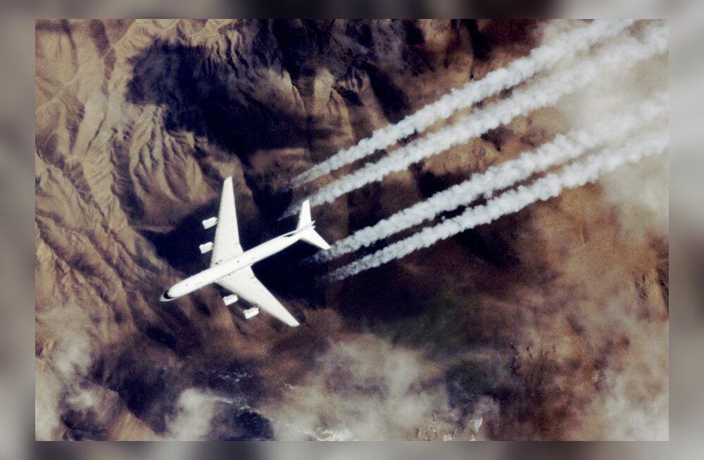 Lennukijäljed taevas rikuvad kliimat, aga nende mõju vähendab üsna lihtne taktika