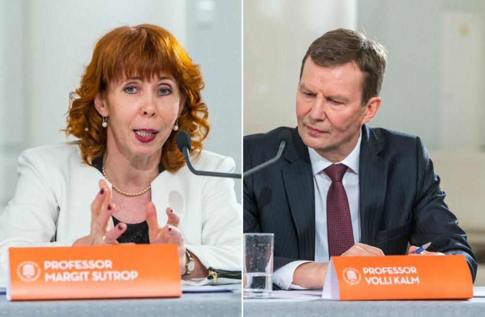 Tartu ülikooli rektorikandidaadid