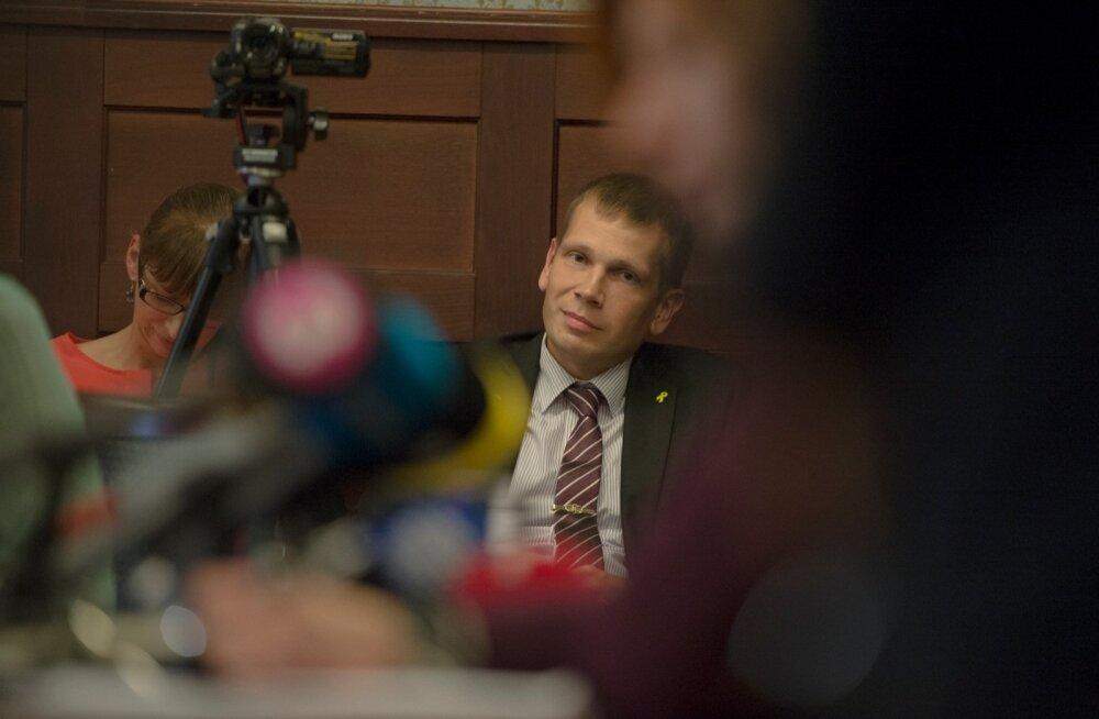 Pressikonverents Riigiprokuratuuris Edgar Savisaare asjus