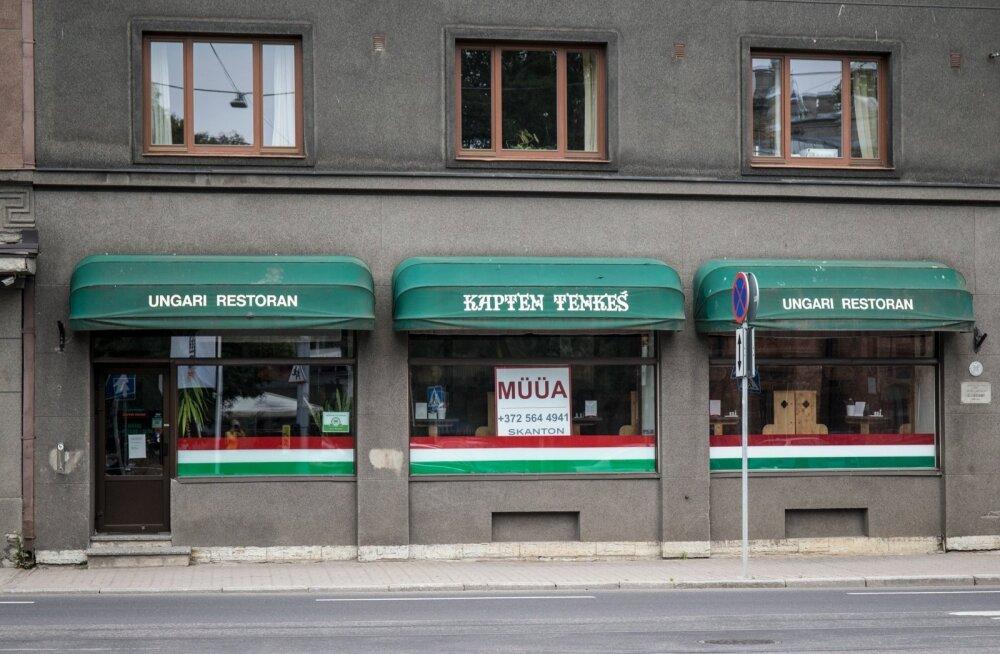 Kapten Tenkeš Pärnu mnt-l