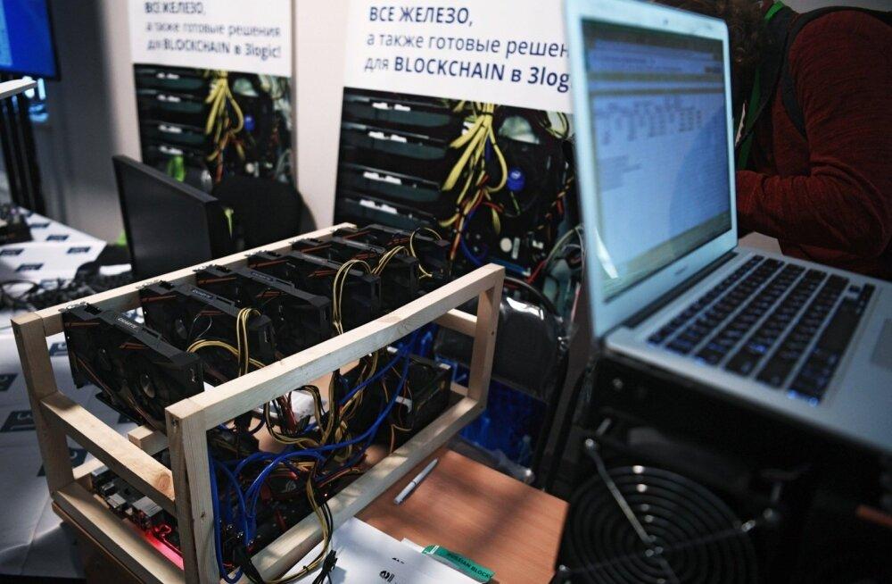 Налоговая конфисковала оборудования для майнинга на сотни тысяч евро