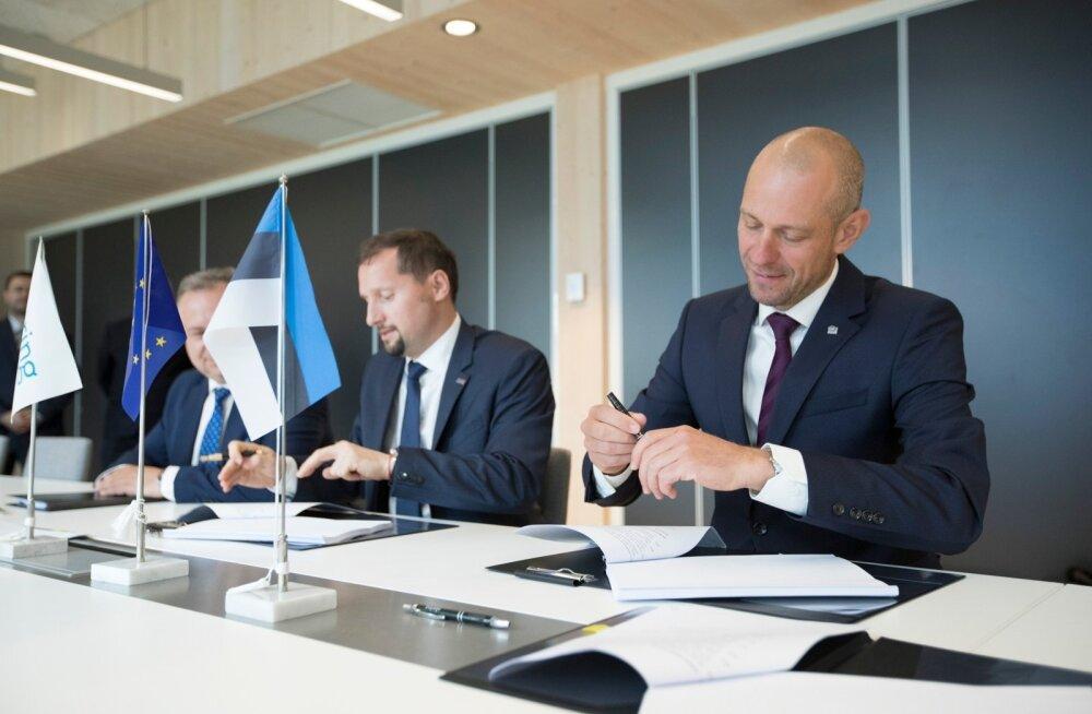Eleringis allkirjastatakse Balticconnectori kompressorjaamade ehituse leping