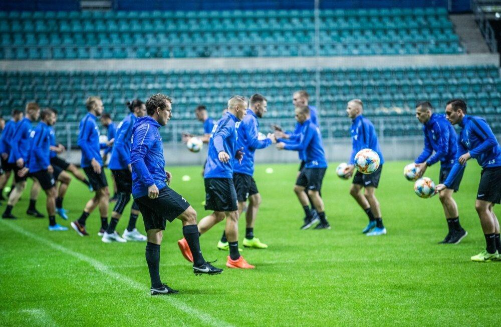 Konstantin Vassiljev usub, et saab Eesti jalgpallikoondist valikmängus aidata.