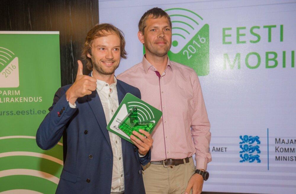 Eesti parim mobiilirakendus 2016 väljakuulutamine