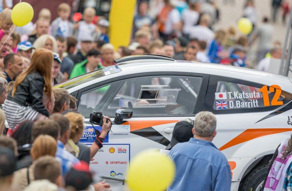 Rally Estonia – tõeline laulupidu ja eksootiline külaline.