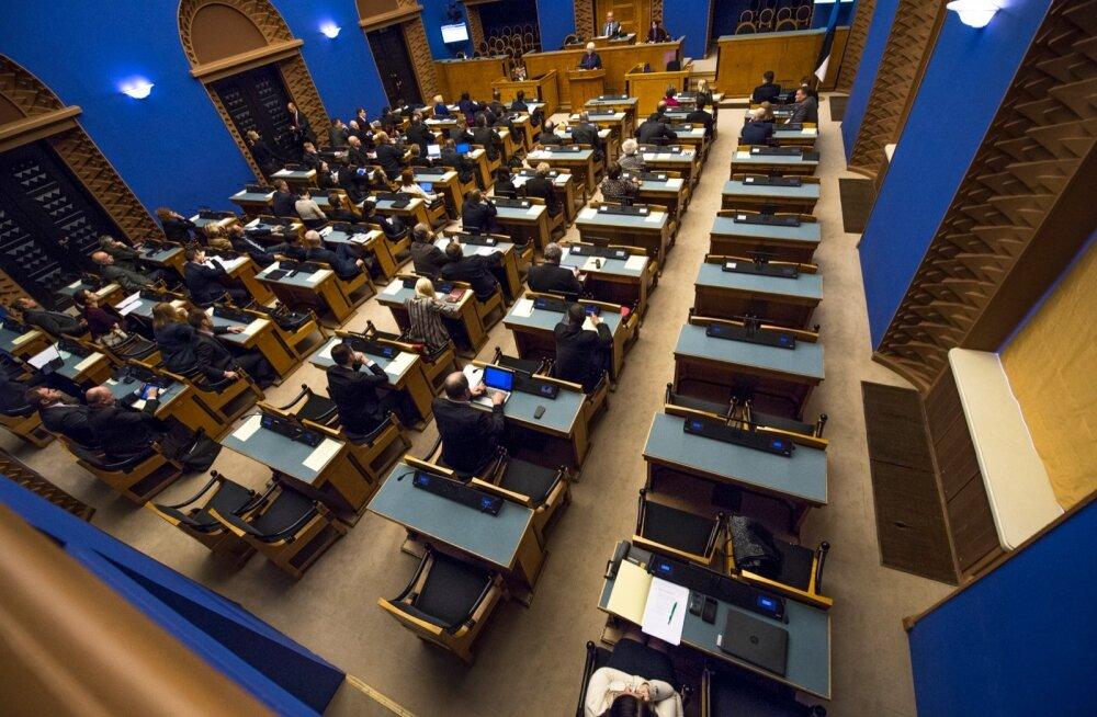 Marina Kaljurand Riigikogus