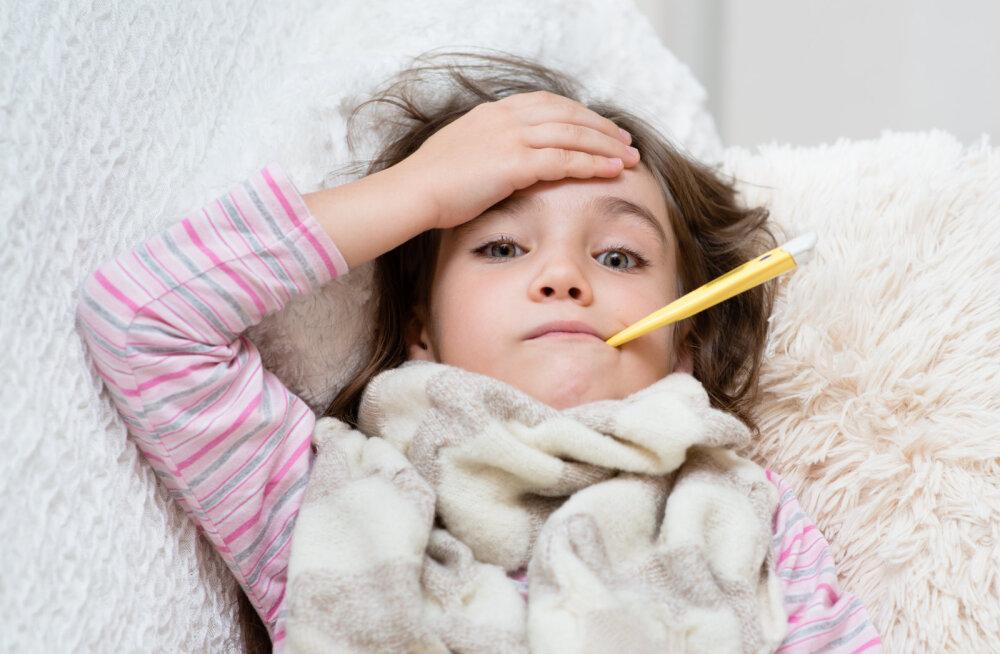 Pane tähele: kui su laps jääb haigeks, tuleks mõned asjad kodus kohe kindlasti ära koristada