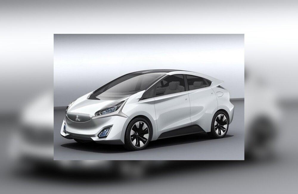 Mitsubishi näitab Shanghai autonäitusel kahte ideeautot
