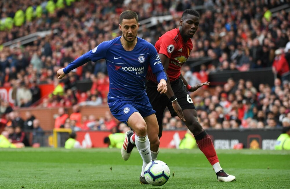Eden Hazard ja Paul Pogba on mõlemad Madridi Reali radaril.