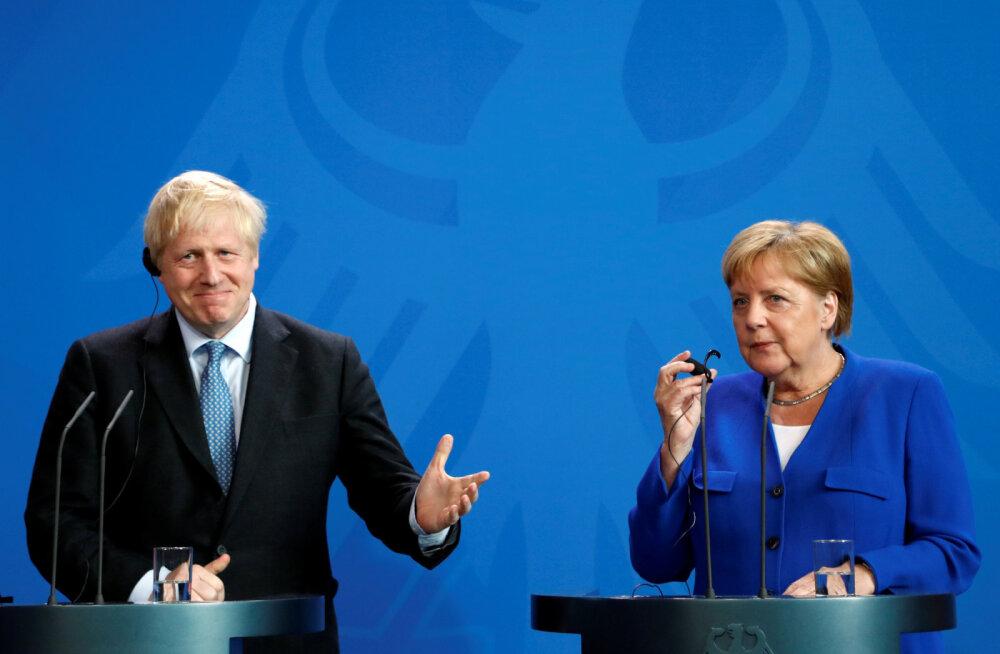 """""""Мира на Украине нет"""". Меркель и Джонсон не видят предпосылок для воссоединия России с G7"""