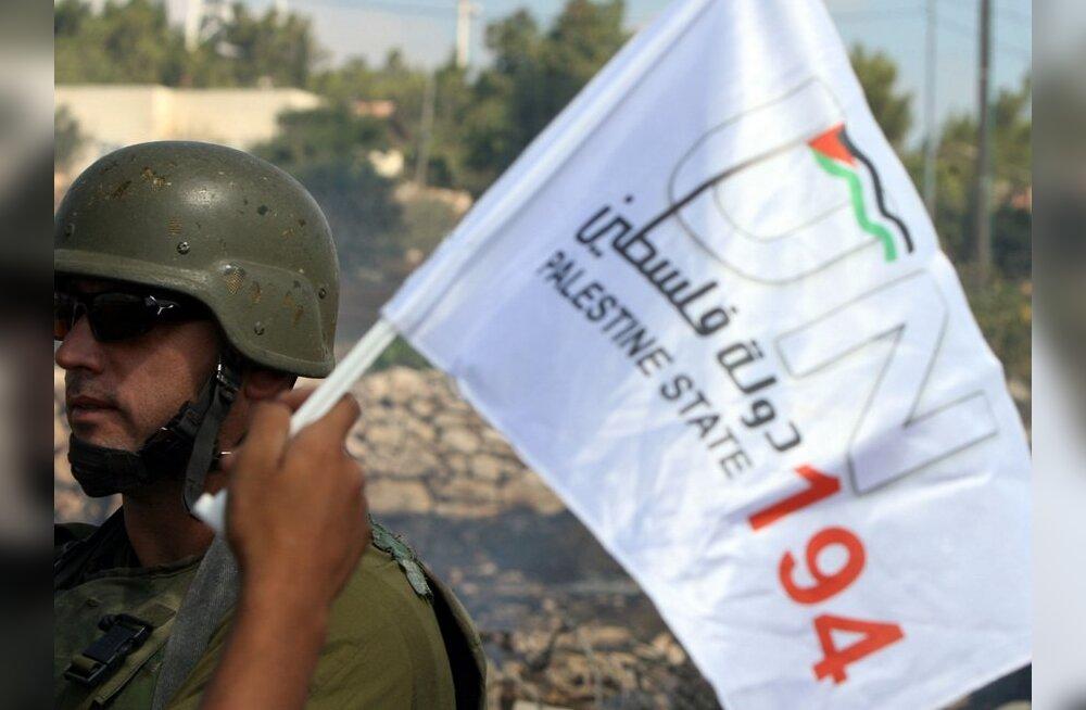 Obama sõnul ei tule ÜRO liikmesuse taotlemine palestiinlastele kasuks