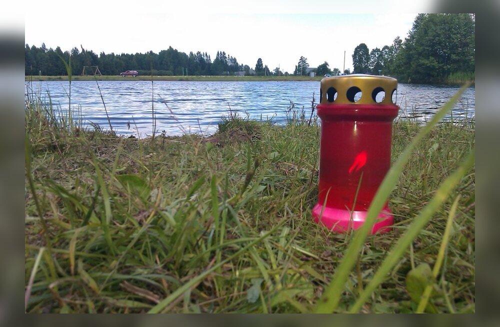 Küünal järve ääres