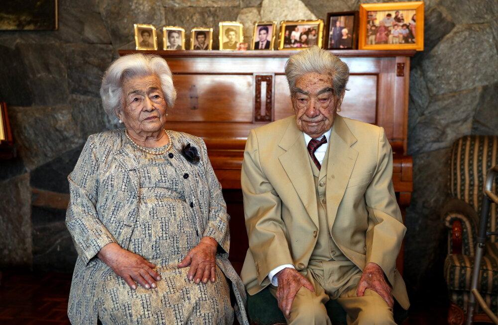 Самая старая супружеская пара в мире попала в Книгу рекордов Гиннесса. Они женаты уже 79 лет
